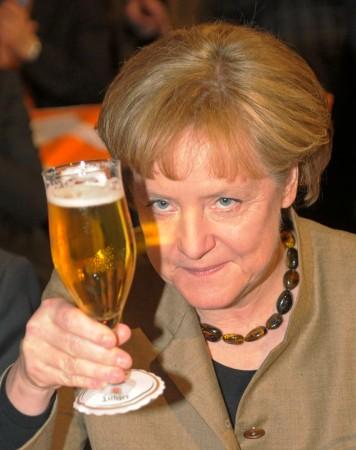 Alkohol Angela Merkel