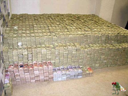 beschlagnahmtes Drogengeld