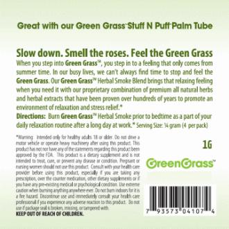GreenGrass back