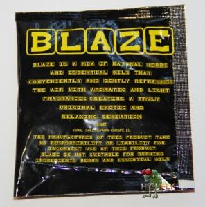 Blaze Räuchermischung Rückseite