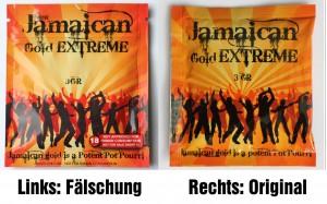 nachgemachtes Jamaican Gold Extreme