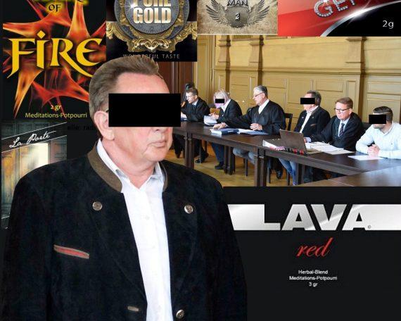 Lava Red Hersteller vor Gericht
