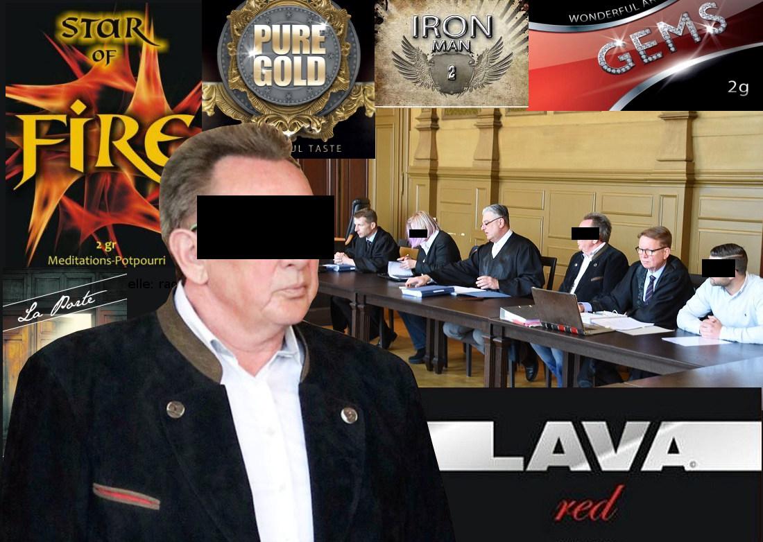 Lava Red Prozess vor Gericht